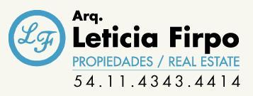 Leticia Firpo Propiedades - Logo